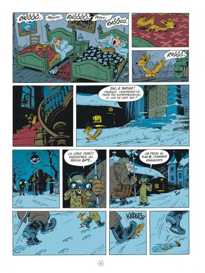 Page 4 Spirou chez les Soviets (éd. spéciale)