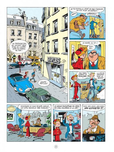 Page 8 Spirou chez les Soviets (éd. spéciale)