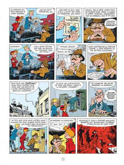 Page 9 Spirou chez les Soviets (éd. spéciale)