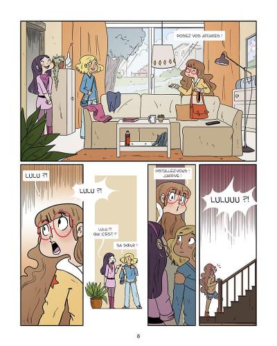 Page 8 Rainbow girls tome 1