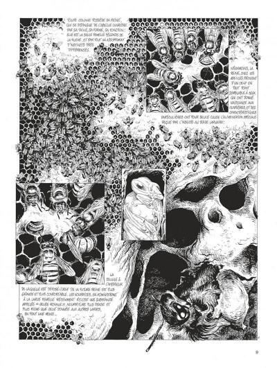 Page 9 La petite reine - intégrale n&b