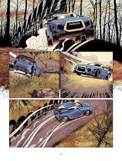 Page 4 Michel Vaillant - nouvelle saison tome 9 (édition augmentée)