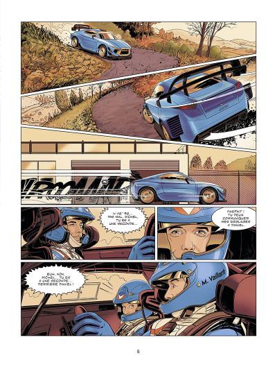 Page 5 Michel Vaillant - nouvelle saison tome 9 (édition augmentée)
