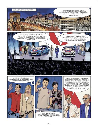 Page 6 Michel Vaillant - nouvelle saison tome 9 (édition augmentée)
