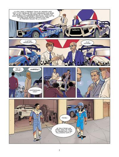 Page 7 Michel Vaillant - nouvelle saison tome 9 (édition augmentée)