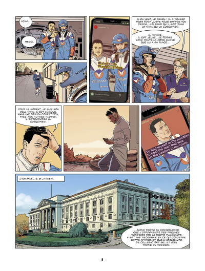 Page 8 Michel Vaillant - nouvelle saison tome 9 (édition augmentée)