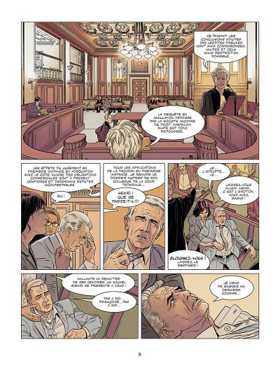 Page 9 Michel Vaillant - nouvelle saison tome 9 (édition augmentée)