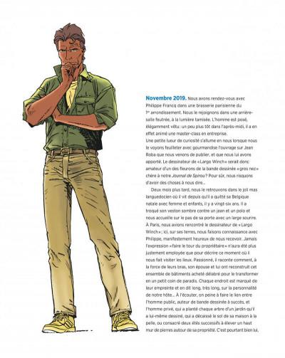 Page 6 Largo winch - Entretiens - L'art du dessin de Philippe Francq
