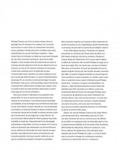 Page 7 Largo winch - Entretiens - L'art du dessin de Philippe Francq