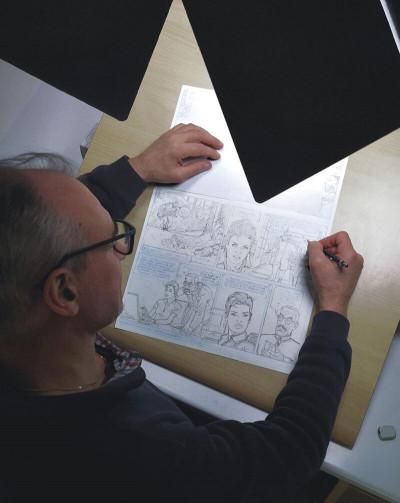 Page 8 Largo winch - Entretiens - L'art du dessin de Philippe Francq