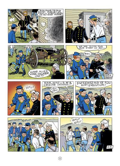 Page 8 Les tuniques bleues tome 64