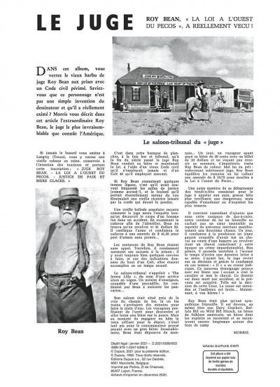 Page 2 Lucky Luke T.13 - le juge