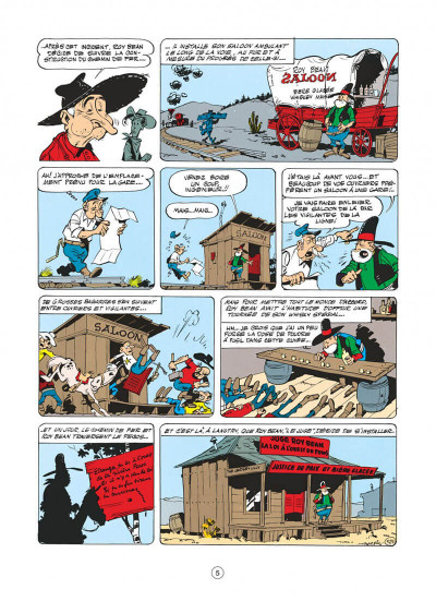 Page 5 Lucky Luke T.13 - le juge