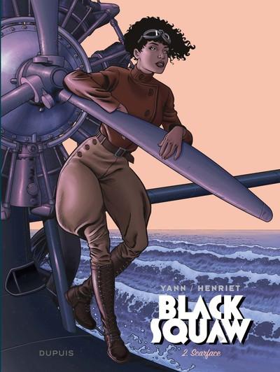 Couverture Black squaw tome 2 + ex-libris offert