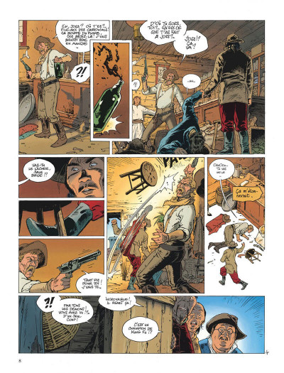 Page 8 Chinaman intégrale tome 2