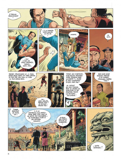 Page 6 Chinaman intégrale tome 3