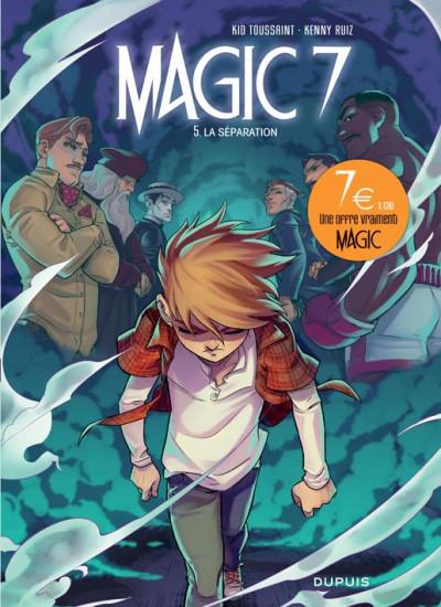 Couverture Magic 7 tome 5