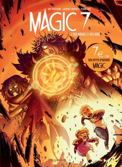 Couverture Magic 7 tome 7