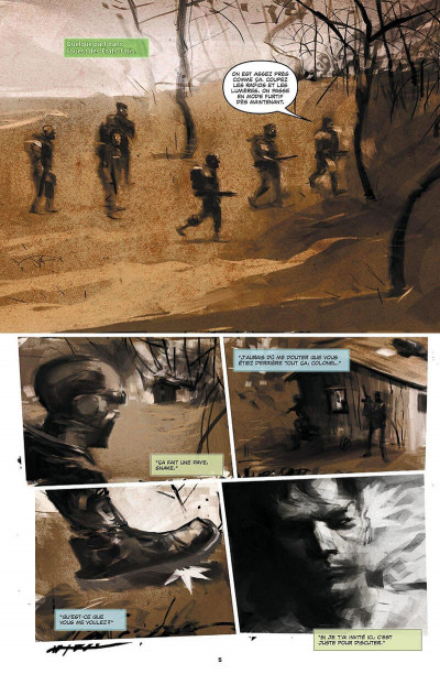 Page 4 Metal Gear Solid - Projet Rex