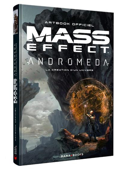 Couverture Mass effect andromeda - La création d'un univers - Artbook officiel