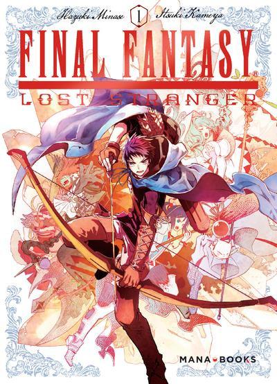 Couverture Final Fantasy - Lost stranger tome 1