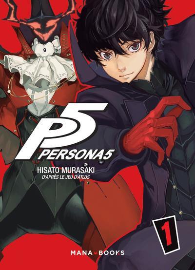 Couverture Persona 5 tome 1