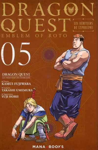 Couverture Dragon quest - les héritiers de l'emblême tome 5