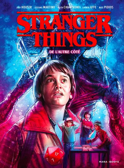 Couverture Stranger things tome 1