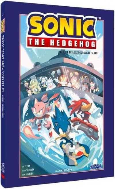 Couverture Sonic the Hedgehog tome 3