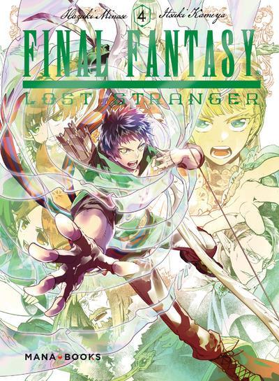 Couverture Final fantasy - Lost stranger tome 4