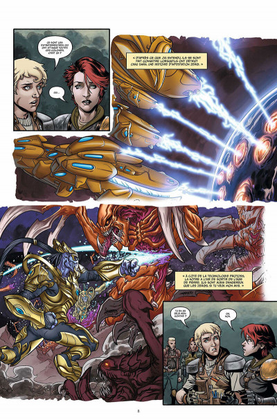 Page 9 Starcraft scavengers tome 1