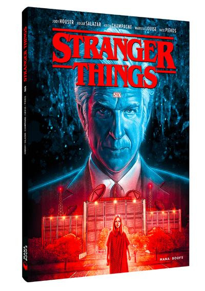 Couverture Stranger Things tome 2