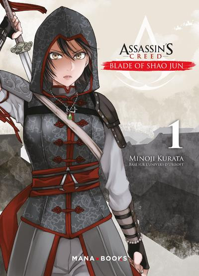 Couverture Assassin's Creed - blade of Shao Jun tome 1