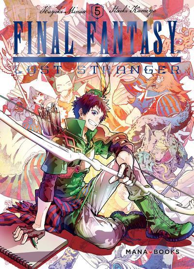 Couverture Final Fantasy - lost stranger tome 5