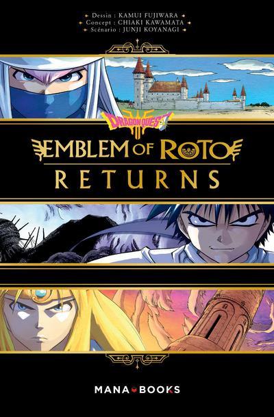 Couverture Dragon quest - emblem of roto - returns