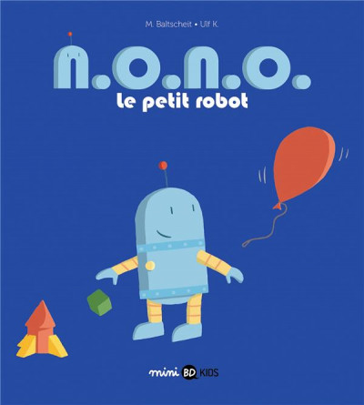 Couverture n. o. n. o. le petit robot