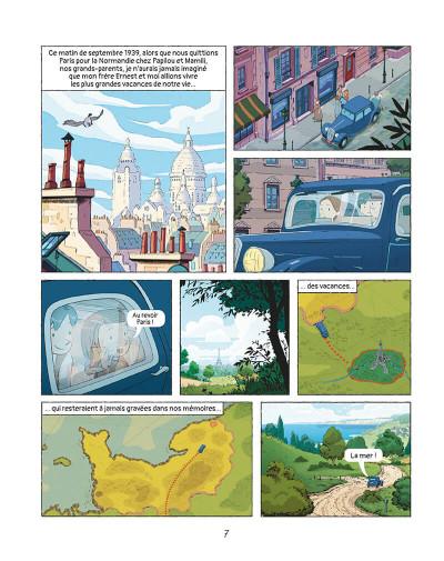Page 6 Les grandes grandes vacances tome 1