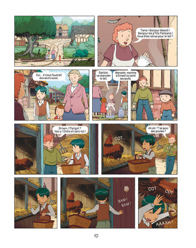 Page 9 Les grandes grandes vacances tome 1