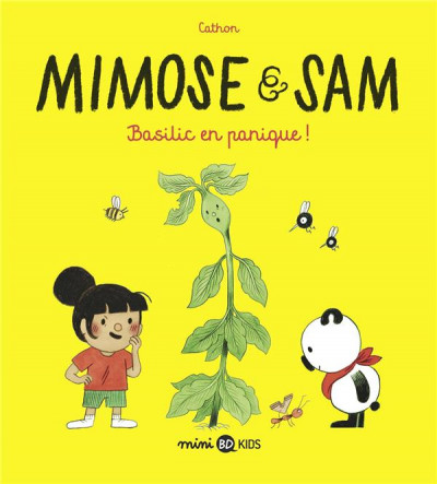 Couverture Sam et Mimosa tome 1 - Basilic en panique