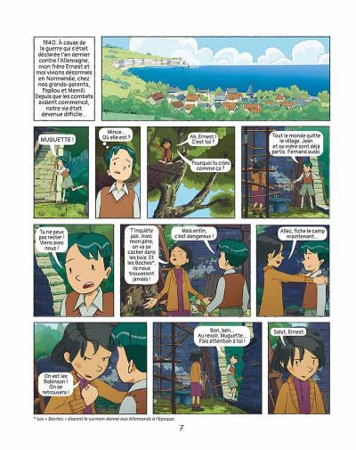 Page 6 Les grandes grandes vacances tome 2