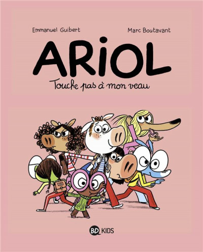 Couverture Ariol tome 15