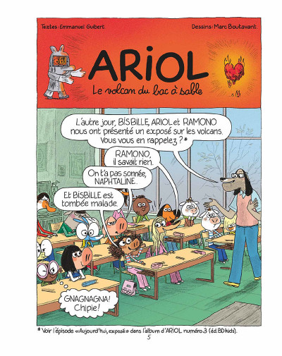 Page 4 Ariol tome 15