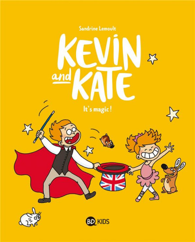 Couverture Kevin and Kate tome 4