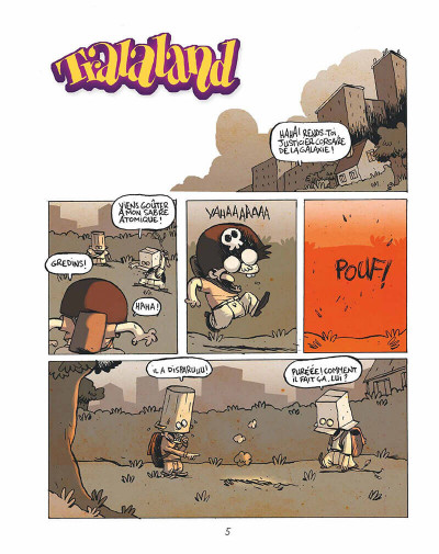Page 4 Tralaland tome 1