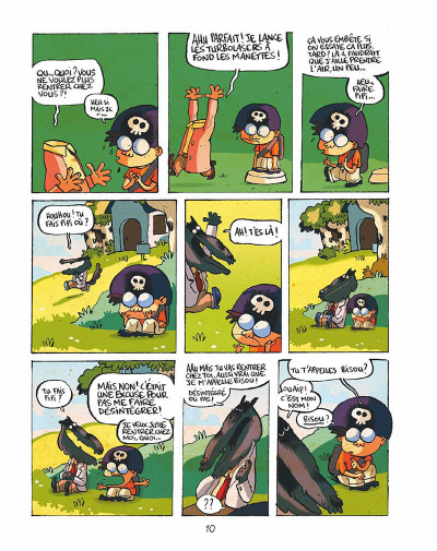 Page 9 Tralaland tome 1