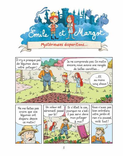 Page 4 Emile et Margot tome 10