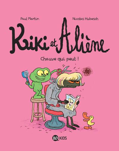 Couverture Kiki et Aliène tome 7