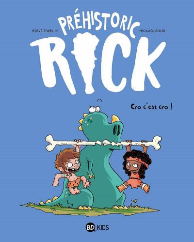 Couverture Préhistoric Rick tome 4