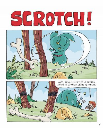 Page 6 Préhistoric Rick tome 4