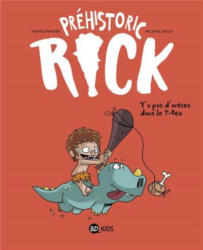Couverture Préhistoric Rick tome 1